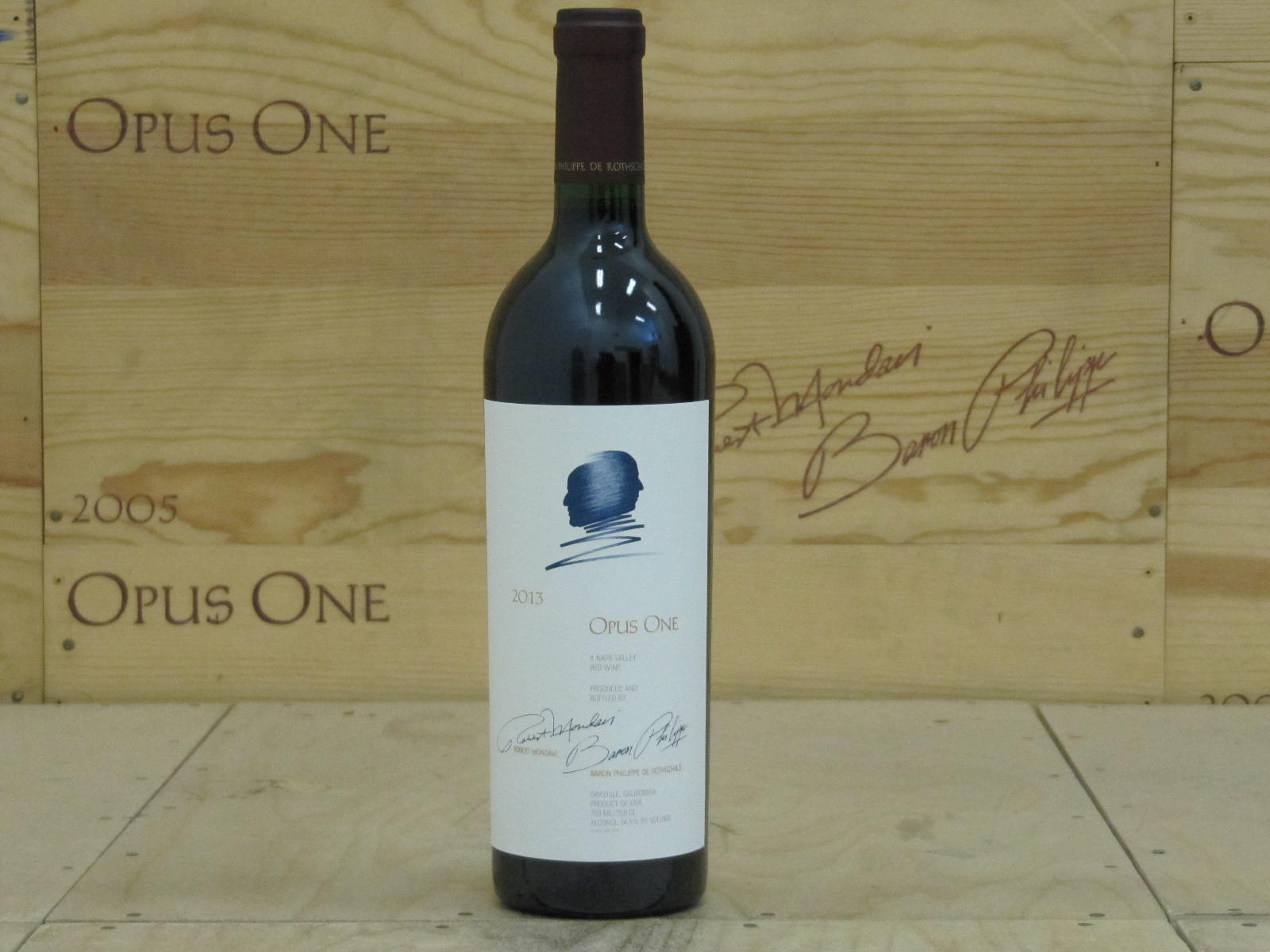 2013 Opus One, Napa Valley RP--97 JS--100