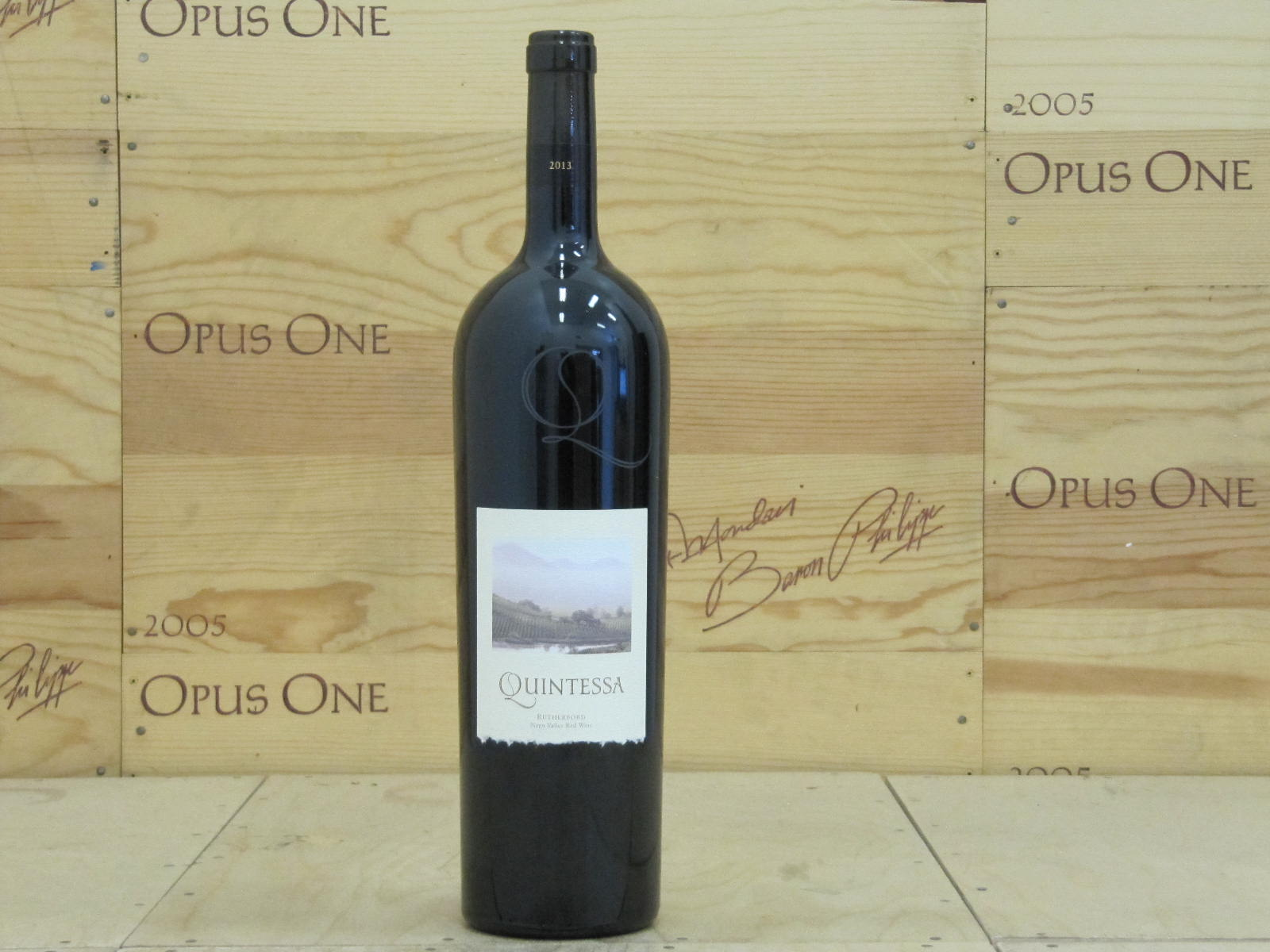 2013 Quintessa Proprietary Red Wine 1.5 L, Rutherford RP--96