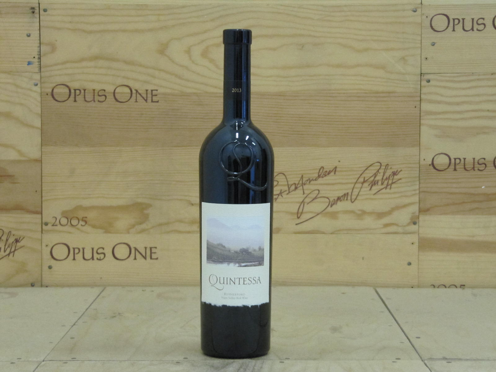 2013 Quintessa Proprietary Red Wine, Rutherford RP--96 JS--98