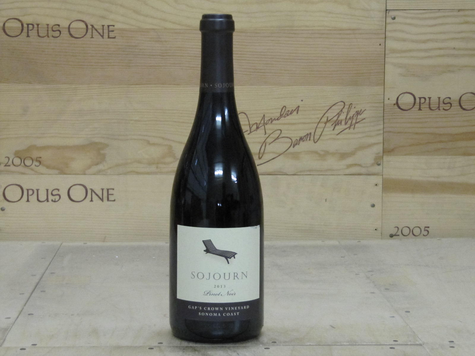 2013 Sojourn Cellars Pinot Noir Gap's Crown, Sonoma Coast RP--95