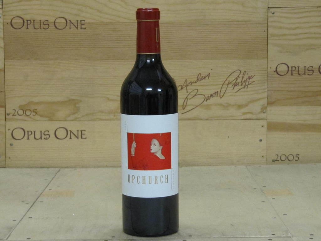 2013 Upchurch Vineyard Cabernet Sauvignon, Red Mountain RP--96