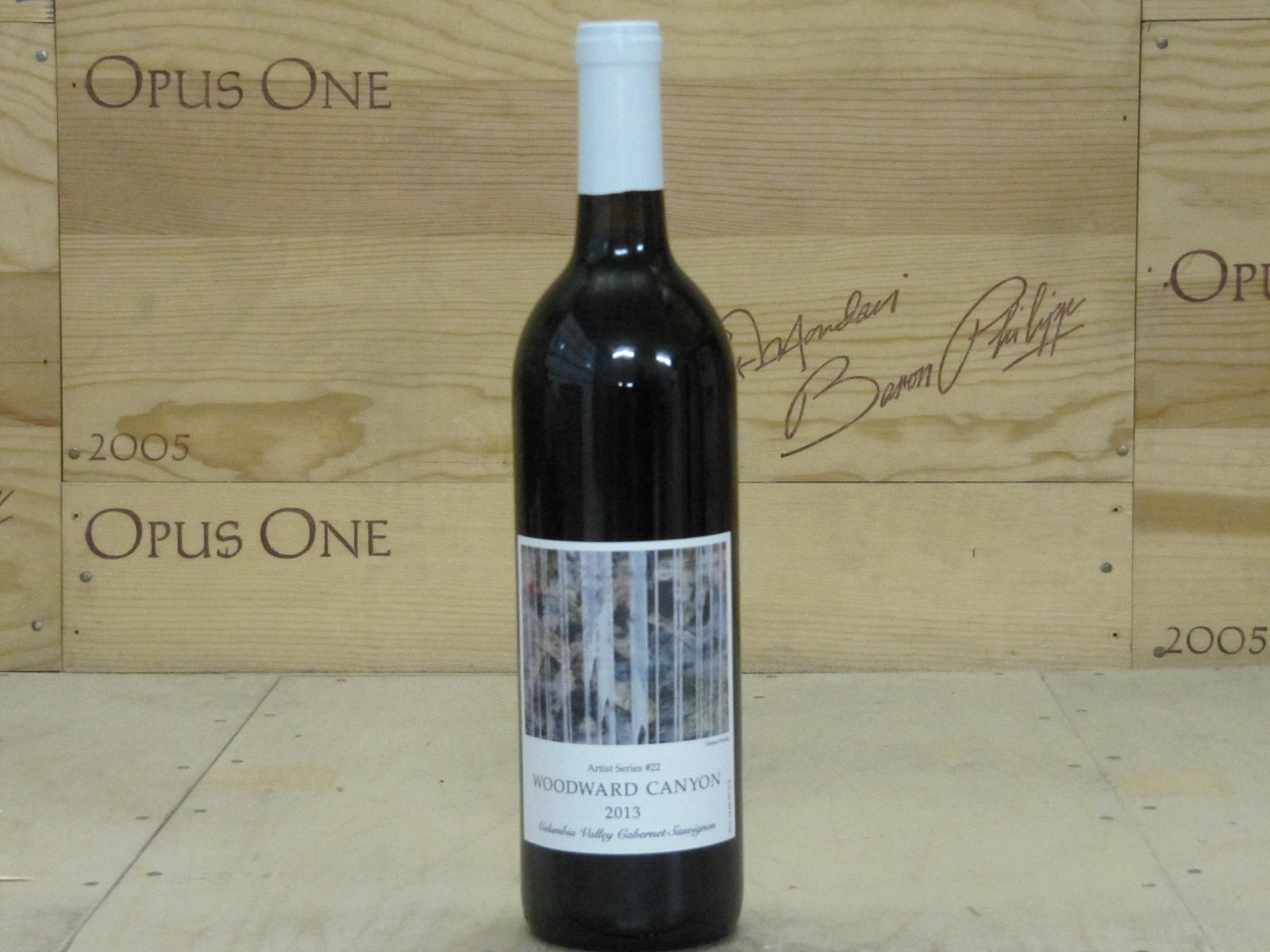 2013 Woodward Canyon Cabernet Sauvignon Artist Series, Washington RP--94