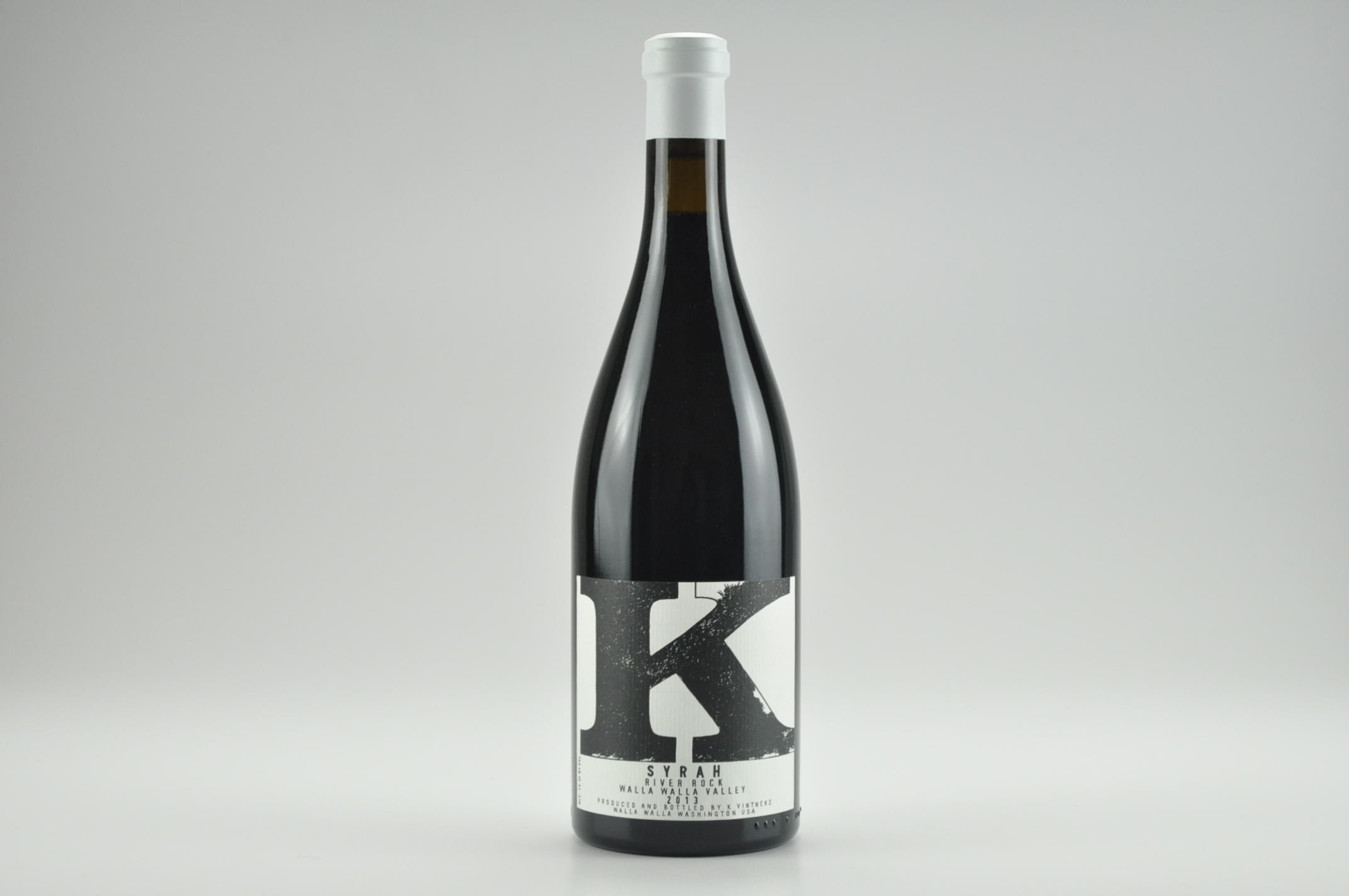 2013 Charles Smith K Vintners River Rock Syrah, Walla Walla Valley RP--93