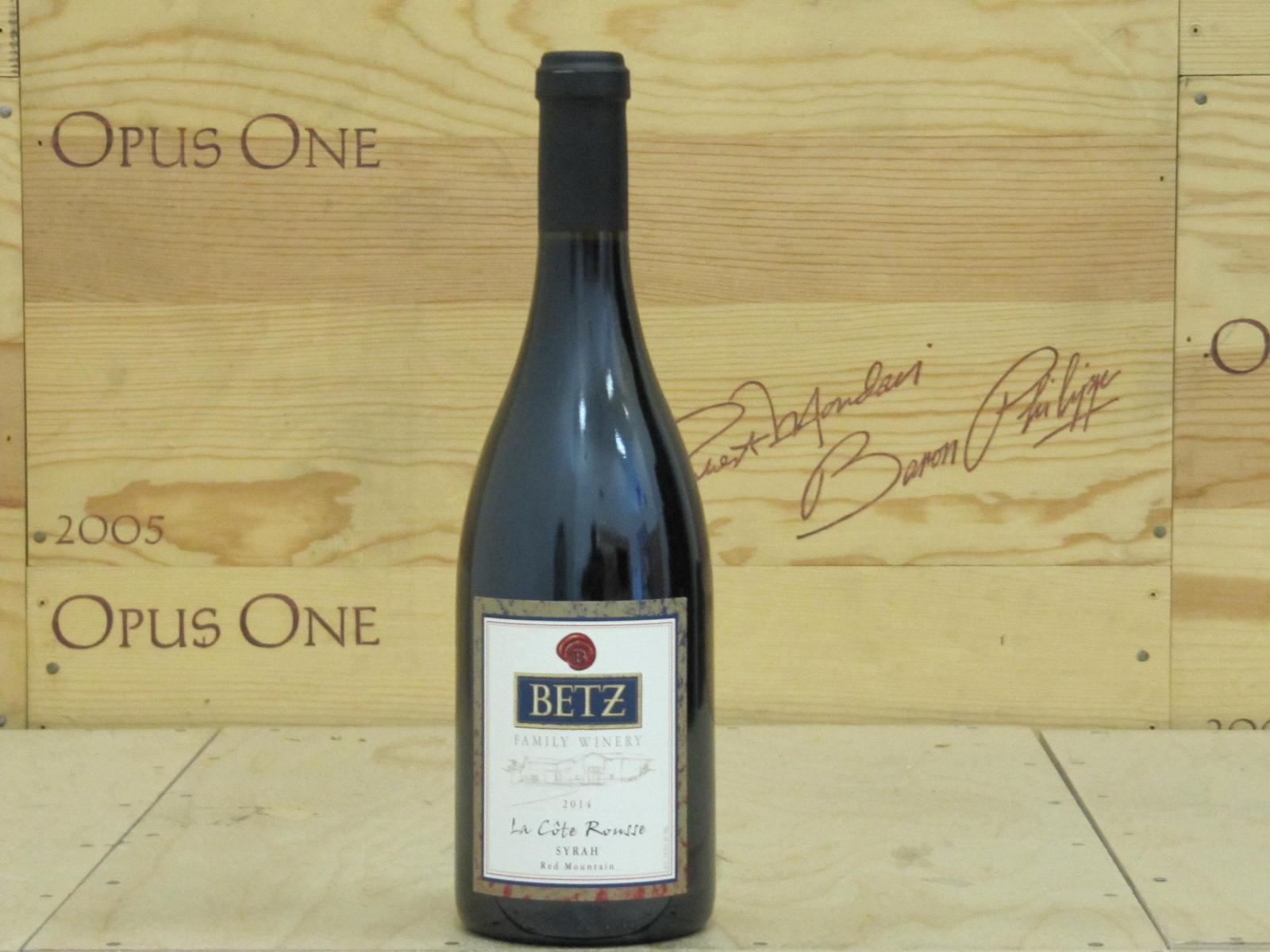 2014 Betz Family Winery Syrah la Cote Rousse, Columbia Valley RP--96