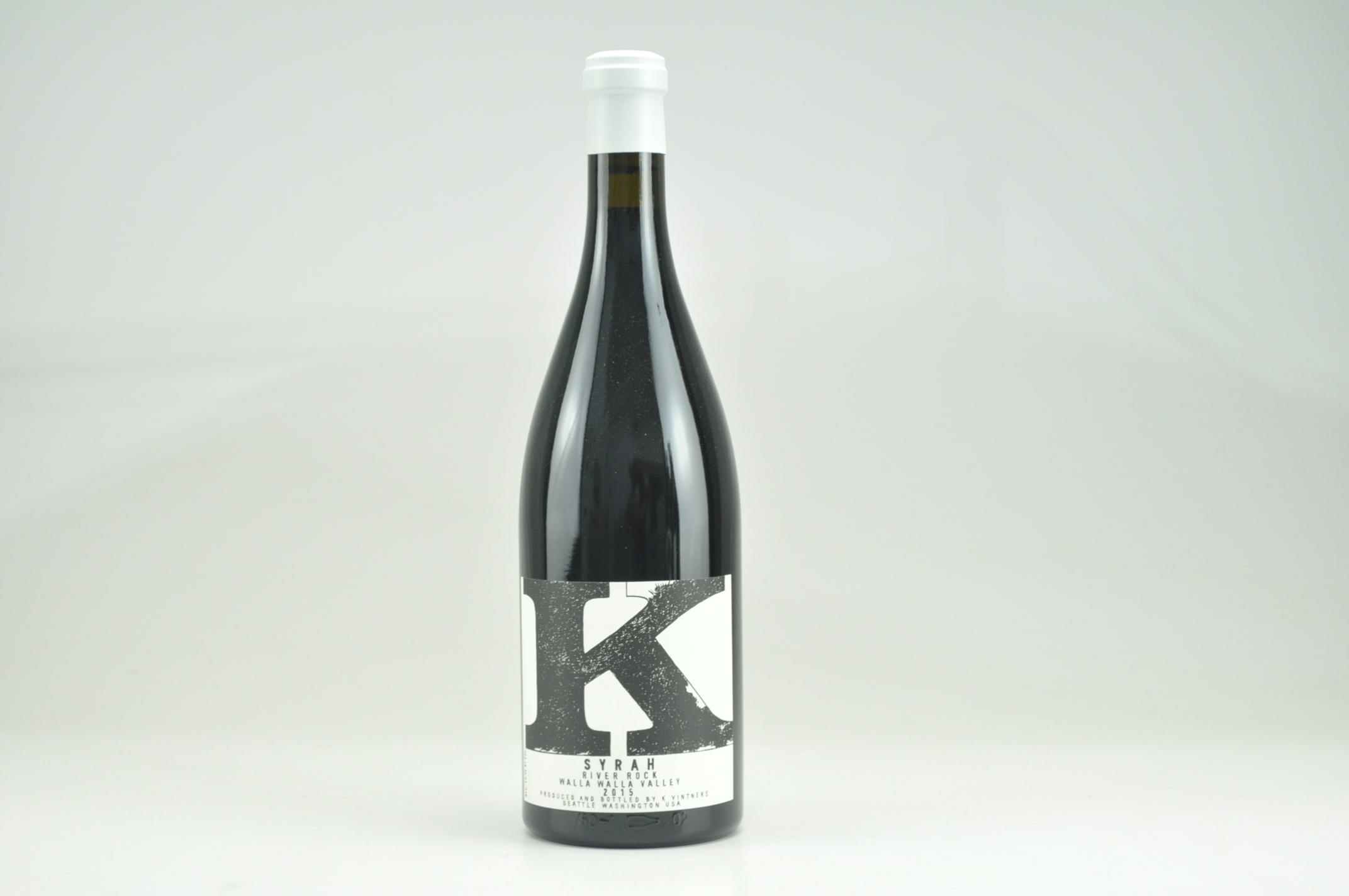 2015 K Vintners River Rock Syrah, Walla Walla Valley