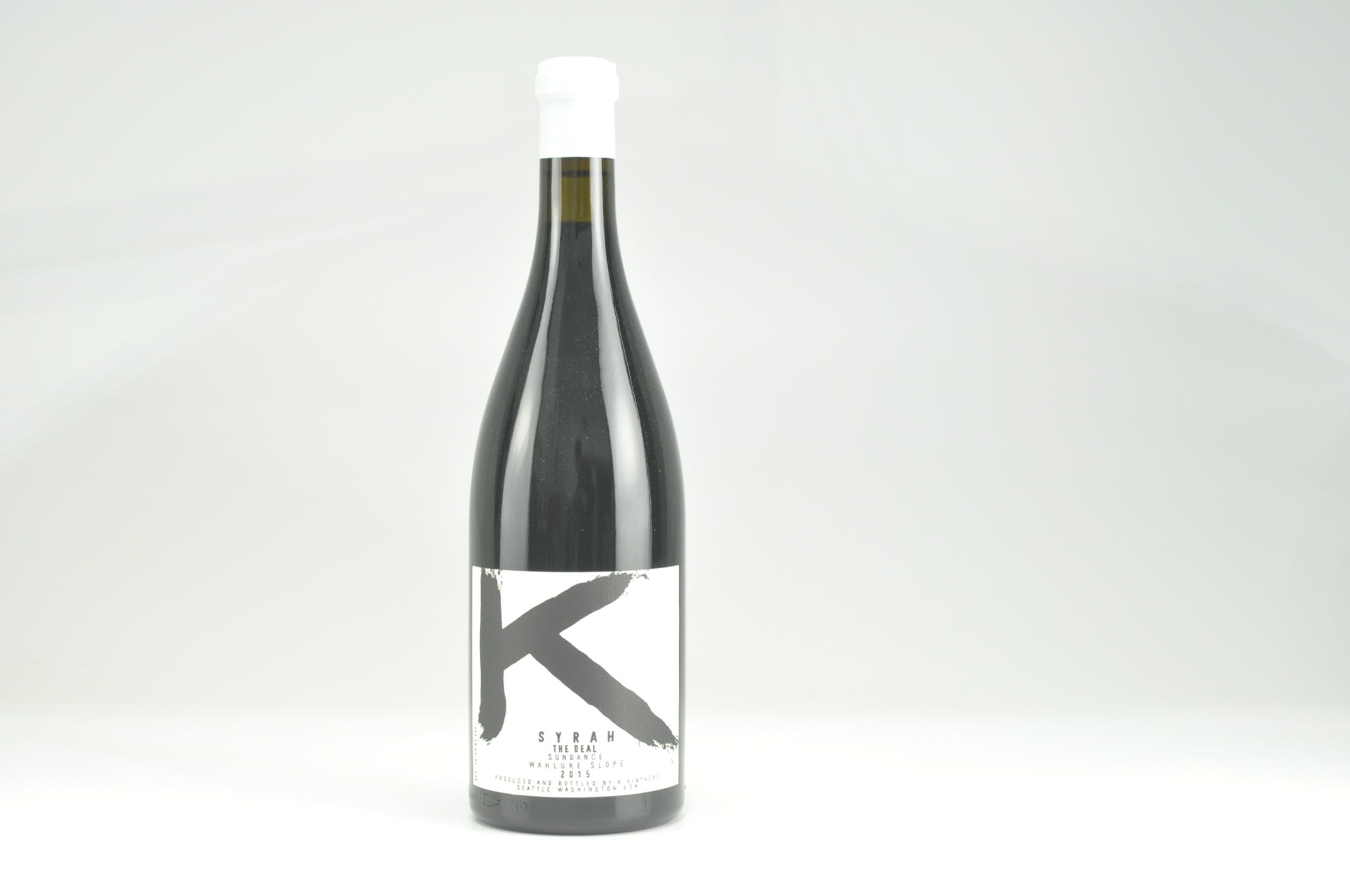 2015 K Vintners Syrah The Deal Sundance Vineyard JD--95
