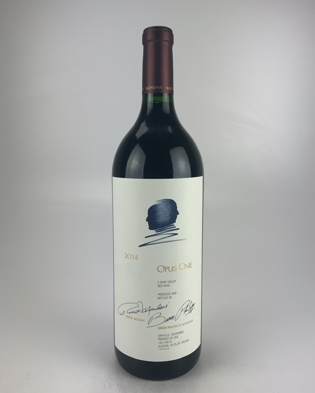 2014 Opus One, Napa Valley 1.5 L RP--96