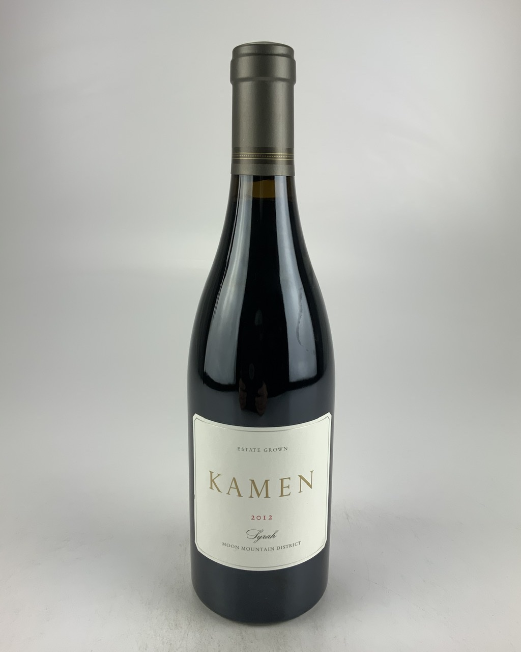2012 Kamen Estate Syrah, Sonoma Valley RP--89