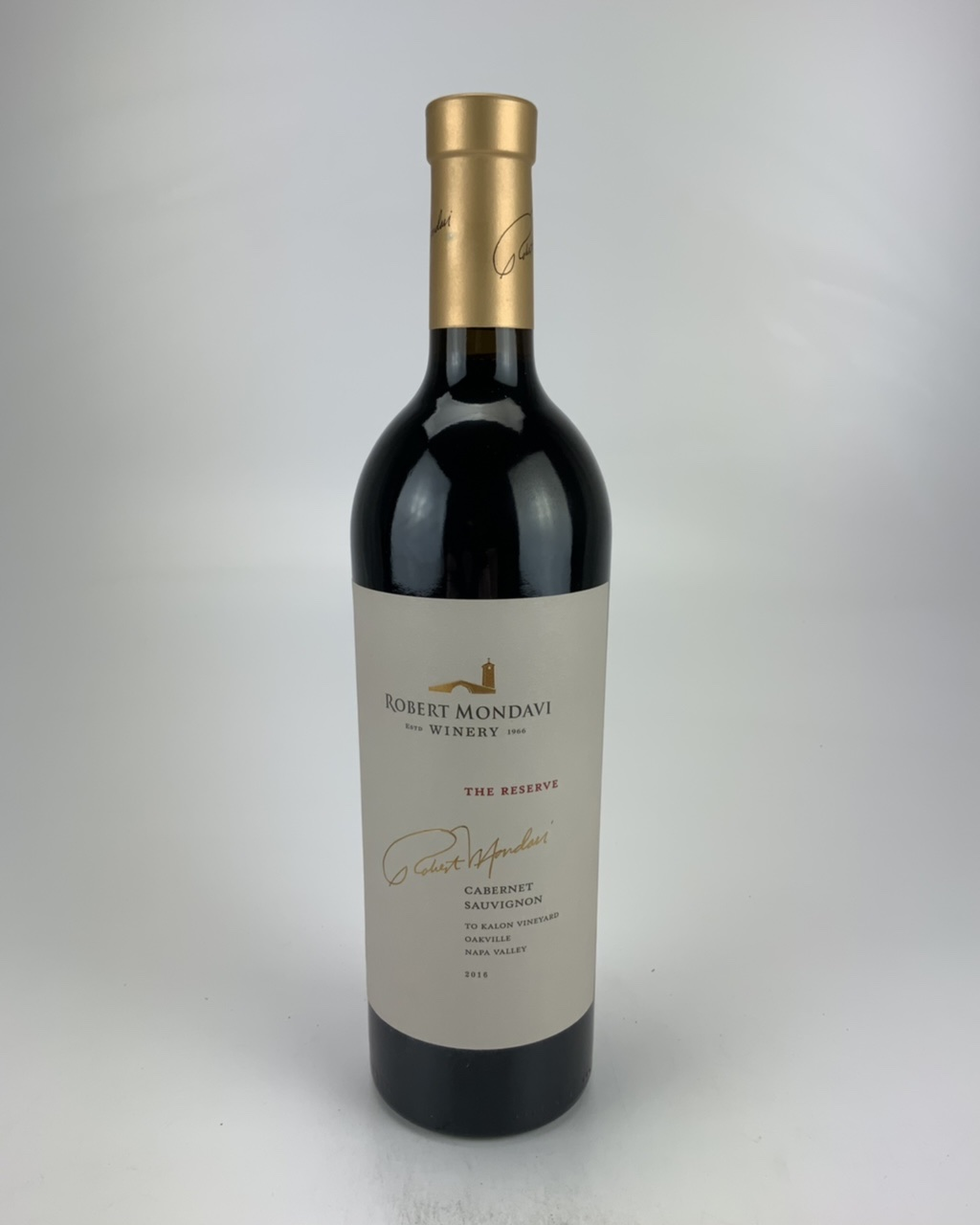 2016 Robert Mondavi The Reserve To Kalon Vineyard Cabernet Sauvignon RP--96 JD--96 JS--96