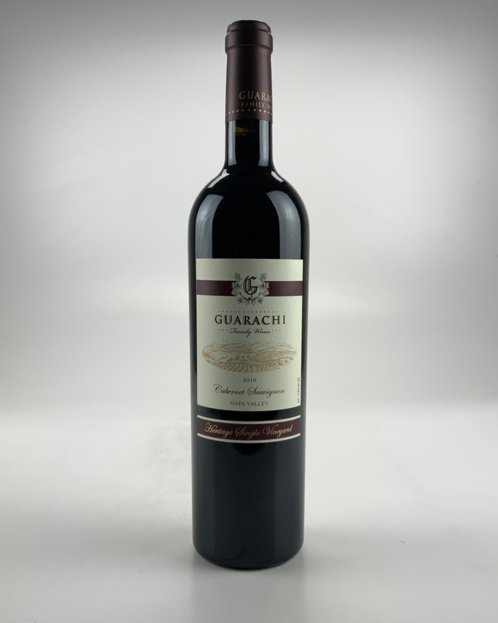 2010 Guarachi Family Wines Cabernet Sauvignon heritage Single Vineyard