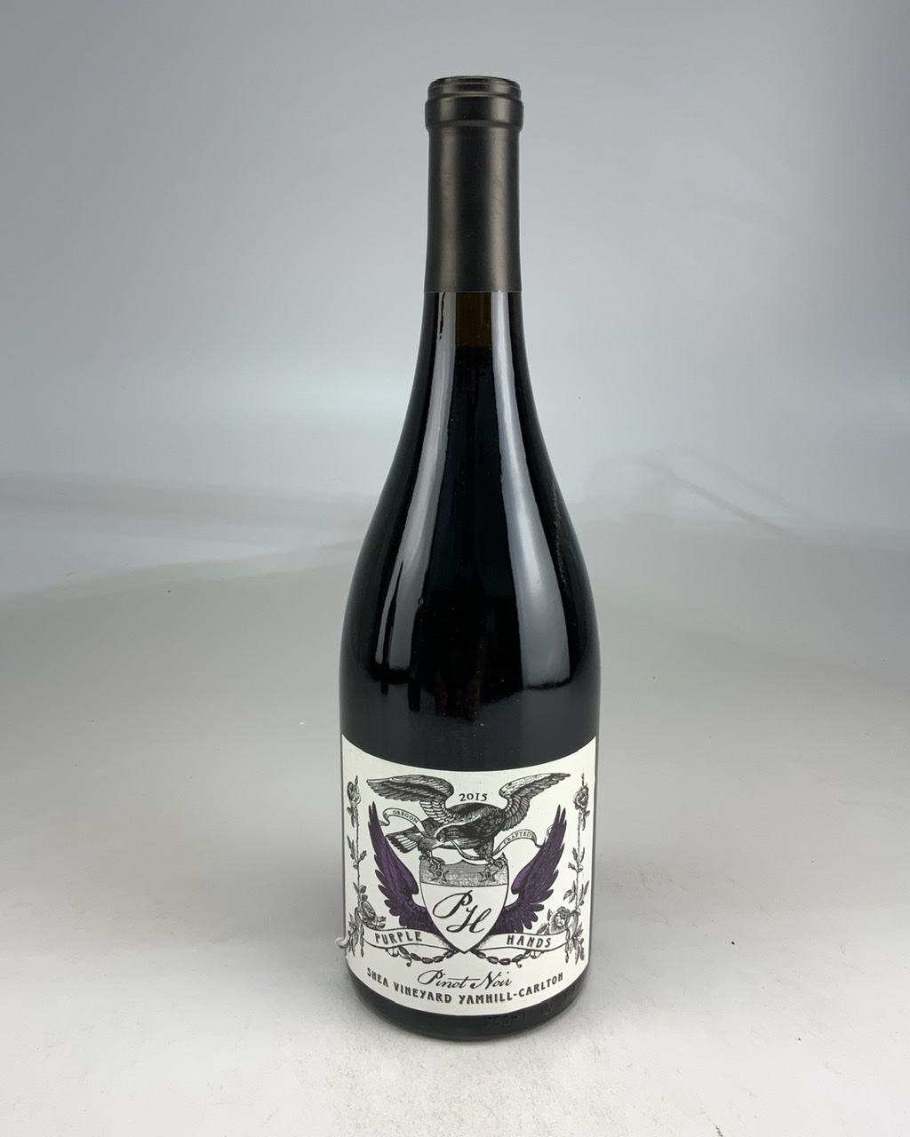 2015 Purple Hands Shea Vineyard Pinot Noir WS--91