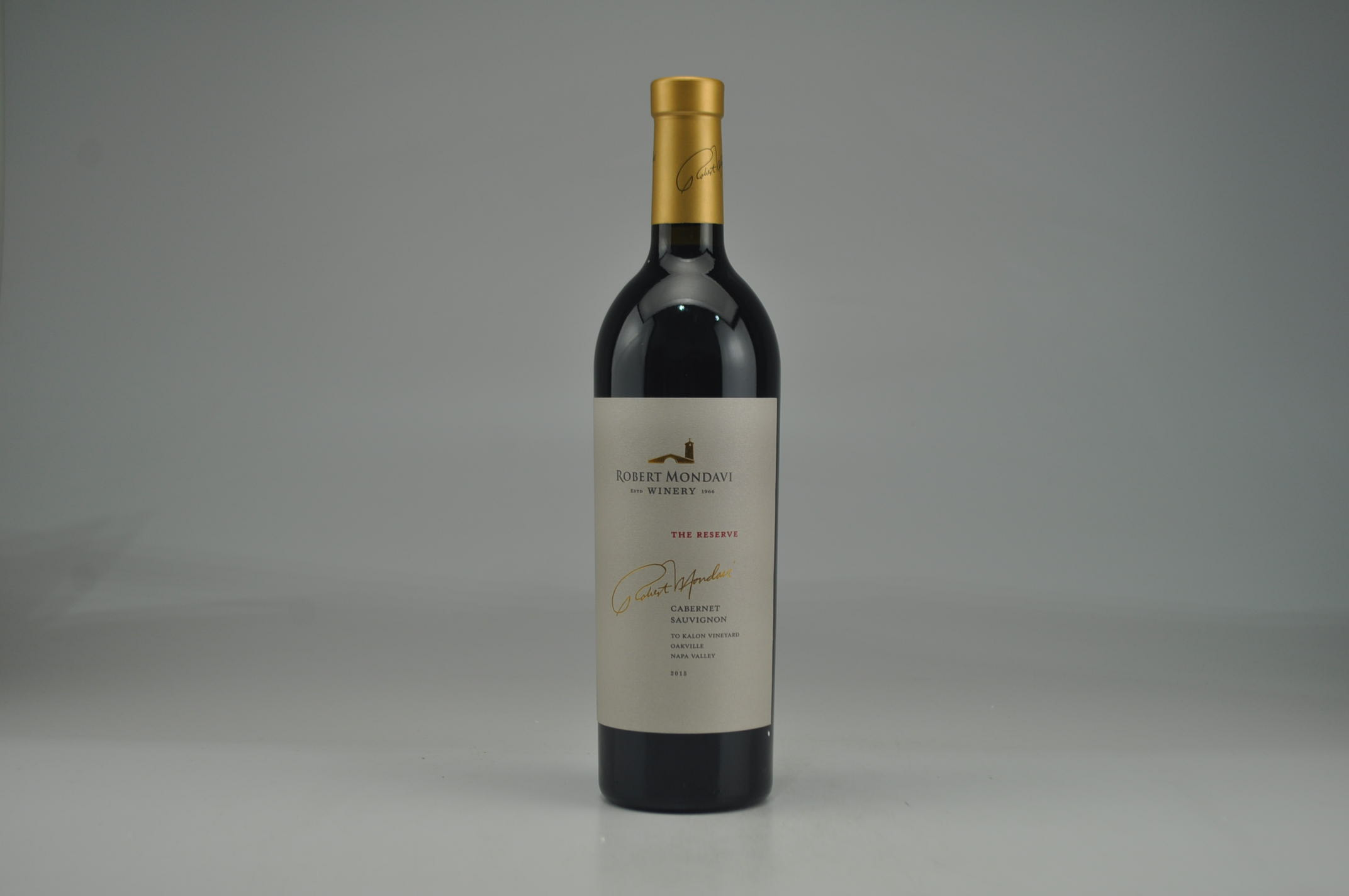 2015 Robert Mondavi The Reserve To Kalon Vineyard Cabernet Sauvignon RP--96 AG--96 JS--96
