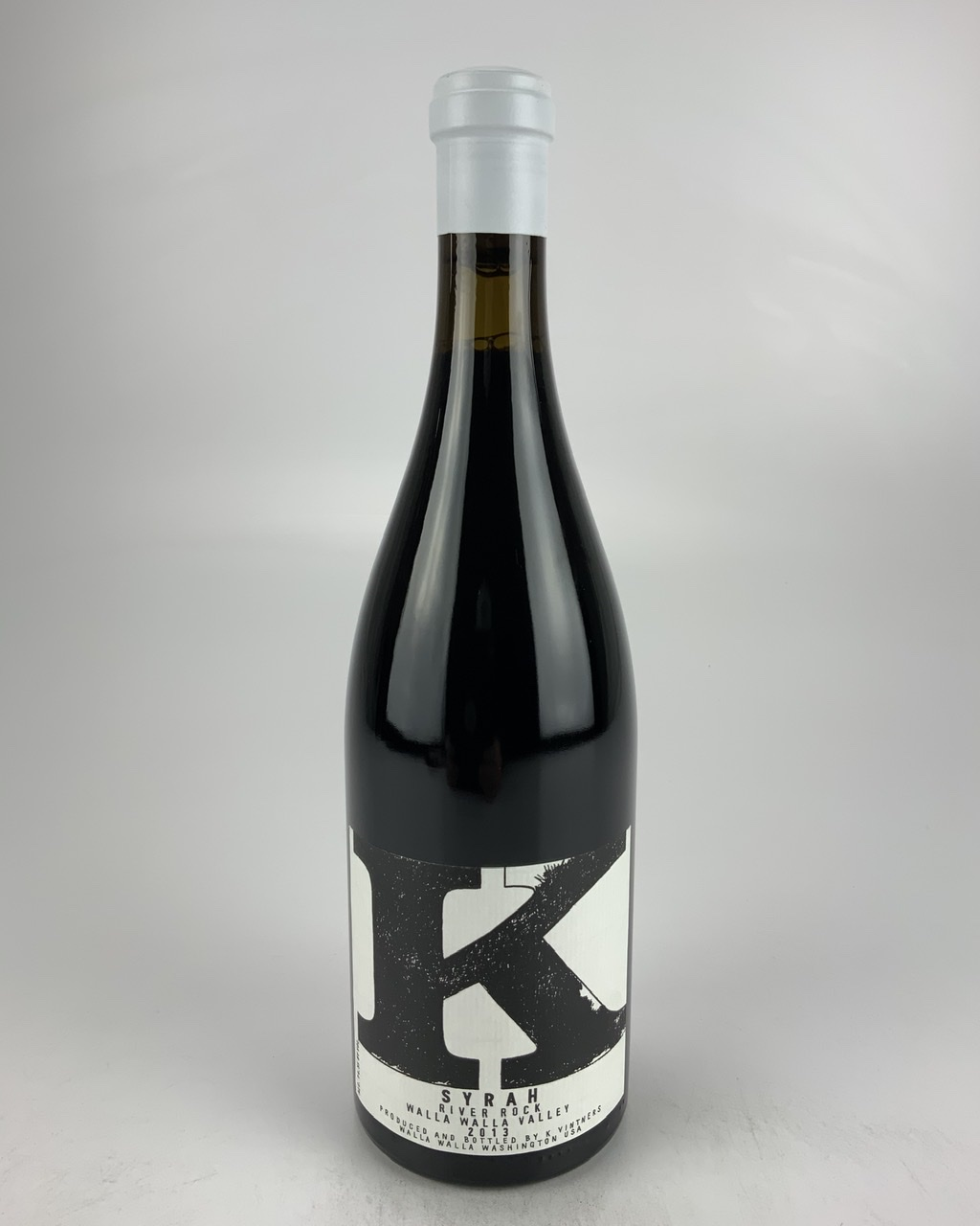 2013 K Vintners River Rock Syrah, Walla Walla Valley RP--93 WS--94
