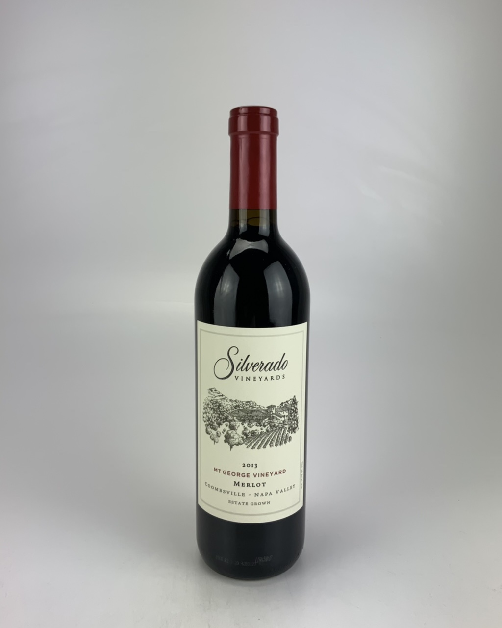 2013 Silverado Vineyards Mt. George Merlot