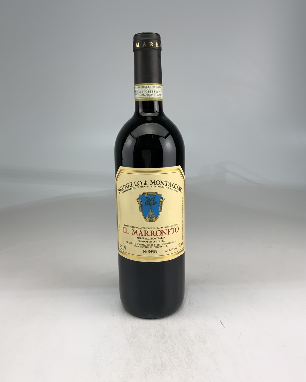 2014 Il Marroneto Brunello di Montalcino RP--92 WE--95 AG--92 JS--93