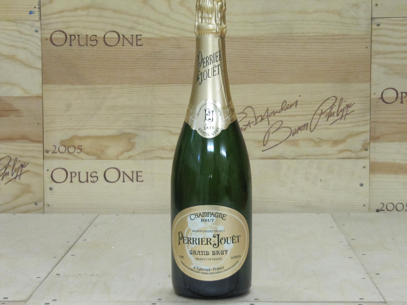0000 Perrier Jouet Grand Brut, Champagne WS--91